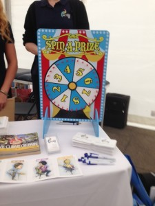 Spin a Prize on our Physiotherapy Wheel!