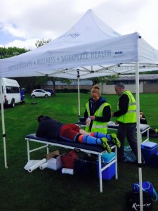 occupational physiotherapy tent